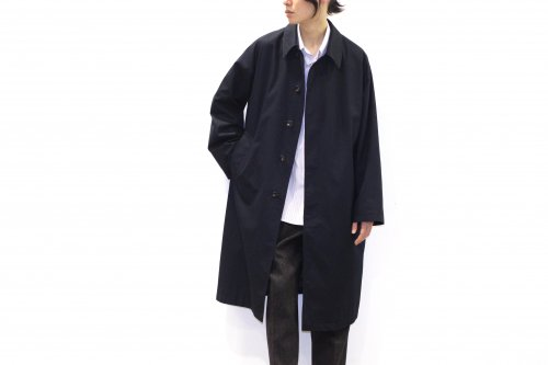 <img class='new_mark_img1' src='//img.shop-pro.jp/img/new/icons2.gif' style='border:none;display:inline;margin:0px;padding:0px;width:auto;' />THEE / bal collar coat(NAVY)