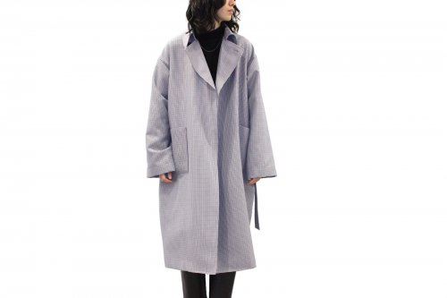 <img class='new_mark_img1' src='https://img.shop-pro.jp/img/new/icons47.gif' style='border:none;display:inline;margin:0px;padding:0px;width:auto;' />ATHA / WO/PL HIGH DENSITY MAXI COAT(HOUND TOOTH)