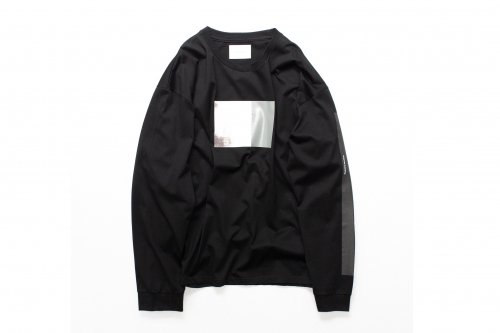 <img class='new_mark_img1' src='https://img.shop-pro.jp/img/new/icons47.gif' style='border:none;display:inline;margin:0px;padding:0px;width:auto;' />stein / OVERSIZED LONG SLEEVE TEE_A(BLACK)