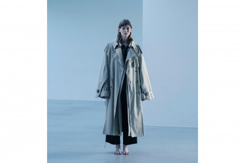 <img class='new_mark_img1' src='https://img.shop-pro.jp/img/new/icons47.gif' style='border:none;display:inline;margin:0px;padding:0px;width:auto;' />stein / DOUBLE SHADE TRENCH COAT(BEIGE)