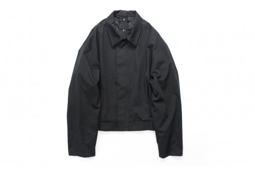 <img class='new_mark_img1' src='https://img.shop-pro.jp/img/new/icons47.gif' style='border:none;display:inline;margin:0px;padding:0px;width:auto;' />stein / EX SLEEVE SYSTEM JACKET(BLACK)