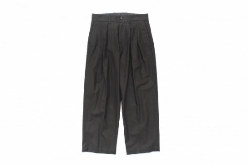 <img class='new_mark_img1' src='https://img.shop-pro.jp/img/new/icons2.gif' style='border:none;display:inline;margin:0px;padding:0px;width:auto;' />stein / WIDE STRAIGHT TROUSERS(BLACK)