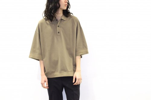 <img class='new_mark_img1' src='https://img.shop-pro.jp/img/new/icons2.gif' style='border:none;display:inline;margin:0px;padding:0px;width:auto;' />VOAAOV / OVERSIZE KANOKO POLO(BEIGE)