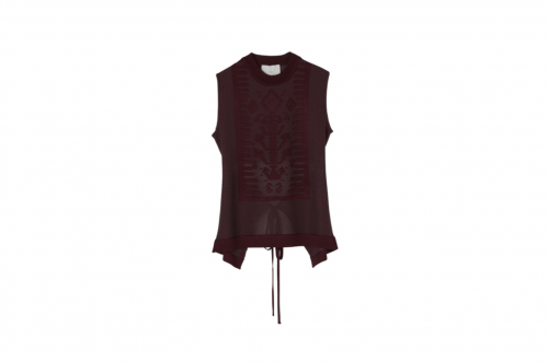 <img class='new_mark_img1' src='https://img.shop-pro.jp/img/new/icons2.gif' style='border:none;display:inline;margin:0px;padding:0px;width:auto;' />TAN / GLOSSY SAILOR TANK(BURGUNDY)