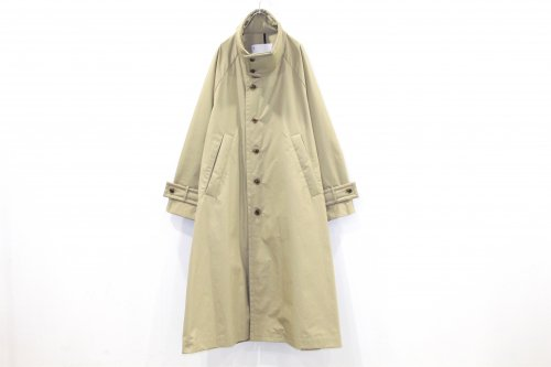<img class='new_mark_img1' src='https://img.shop-pro.jp/img/new/icons2.gif' style='border:none;display:inline;margin:0px;padding:0px;width:auto;' />VOAAOV / OXFORD OVERSIZE STANDCOLLAR COAT(BEIGE)