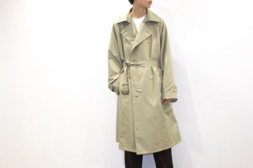 <img class='new_mark_img1' src='//img.shop-pro.jp/img/new/icons47.gif' style='border:none;display:inline;margin:0px;padding:0px;width:auto;' />Blanc YM / Silk Grosgrain Trench Coat(GOLD)