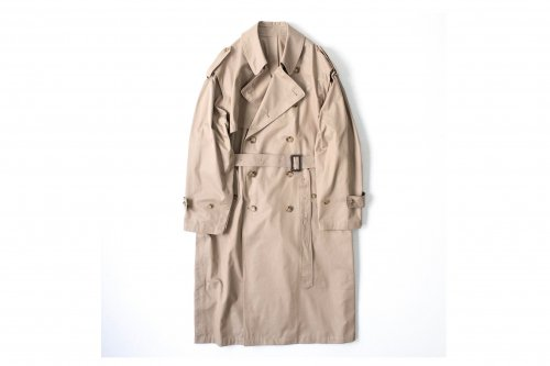 <img class='new_mark_img1' src='https://img.shop-pro.jp/img/new/icons47.gif' style='border:none;display:inline;margin:0px;padding:0px;width:auto;' />stein / DEFORMATION TRENCH COAT(BEIGE)