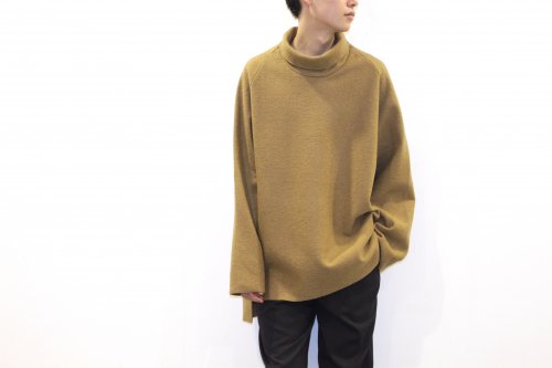 <img class='new_mark_img1' src='//img.shop-pro.jp/img/new/icons2.gif' style='border:none;display:inline;margin:0px;padding:0px;width:auto;' />VOAAOV / HI-NECK BIG KNIT(BEIGE)