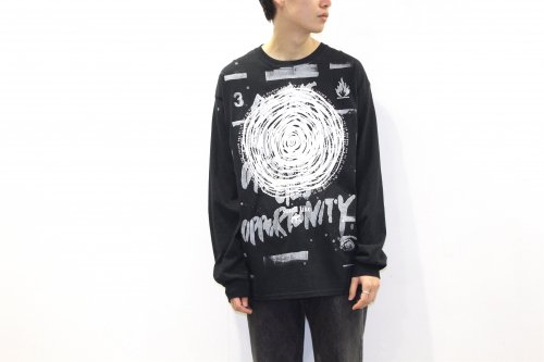 <img class='new_mark_img1' src='https://img.shop-pro.jp/img/new/icons2.gif' style='border:none;display:inline;margin:0px;padding:0px;width:auto;' />smell(s)like / CIRCLE SP long sleeve T-shirts designed by tsutomu moriya(BLACK)
