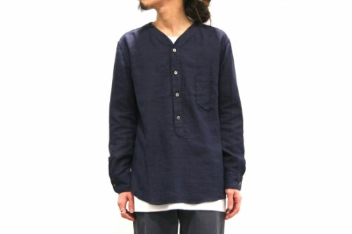 <img class='new_mark_img1' src='//img.shop-pro.jp/img/new/icons41.gif' style='border:none;display:inline;margin:0px;padding:0px;width:auto;' />THEE / W-face Shirts (NAVY)