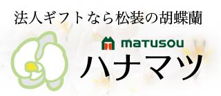 松装の法人ギフト用 胡蝶蘭・観葉植物のネット通販【ハナマツ】