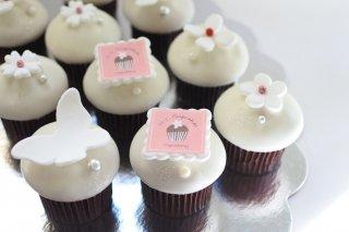 ロゴ入りチョコレートカップケーキ(単品)