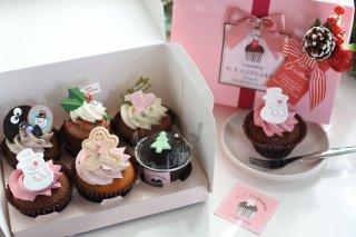 クリスマスカップケーキ 6個Box