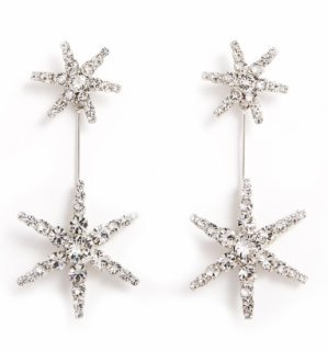 【SELL】JENNIFER BEHR Estee Earring crystal