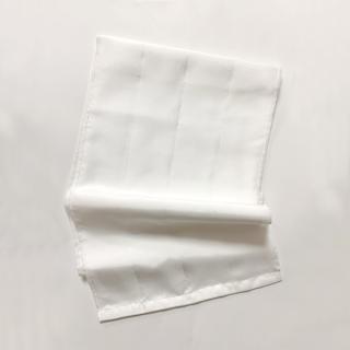 絹糸屋さんの『お肌、うっとり。』絹羽二重シルクスキンケア美容タオル|〜フィラメントシルク・生糸〜|ピュアホワイト