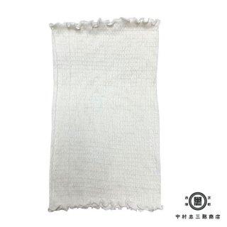 極細番手絹紡シルク(絹紡糸)のふわふわ腹巻 白雲 SHIRAKUMO 大人用