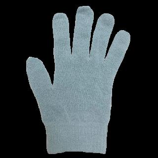 絹糸屋さんの『なんだか、ほっこり。』ふんわりシルク手袋 〜つむぎシルク・絹紬糸〜|ブルー