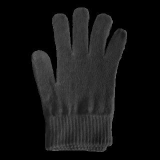 絹糸屋さんの『なんだか、ほっこり。』ふんわりシルク手袋 〜つむぎシルク・絹紬糸〜|ブラック