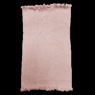 絹糸屋さんの『ふわふわの誘惑。』白雲シルク腹巻|丈35cm 〜極細番手けんぼうシルク・絹紡糸〜|ピンク
