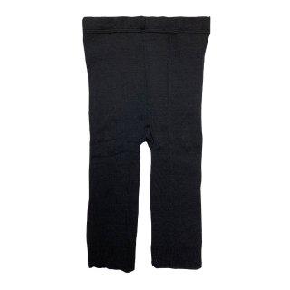 絹糸屋さんの『惜しみなく、絹たっぷり。』シルク五分丈レギンス(M-Lサイズ)|〜けんぼうシルク・絹紡糸〜|ブラック
