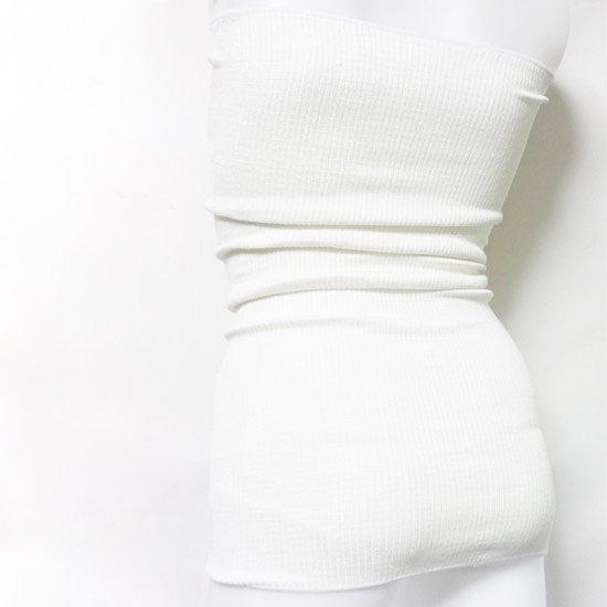 けんぼうシルク(絹紡糸)の腹巻 ダブル65cm