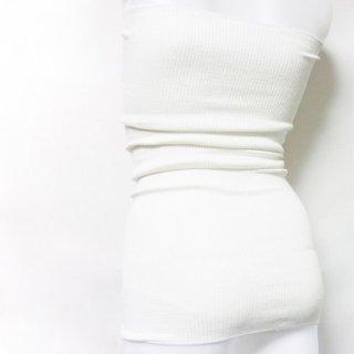 リブシルク腹巻|ダブル丈65� 〜けんぼうシルク・絹紡糸〜