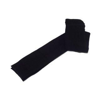 けんぼうシルク(絹紡糸)の紳士スパッツ|M-Lサイズ|ブラック