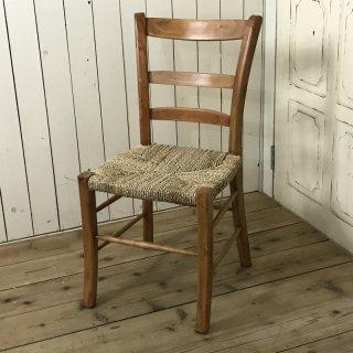 パンダン ダイニングチェア パンダン座面 マホガニー 木製椅子 カフェ リゾート