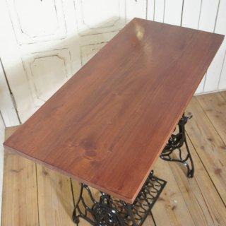 アンティーク調 テーブルトップ 天板 天然木 マホガニー 88cm マホガニー