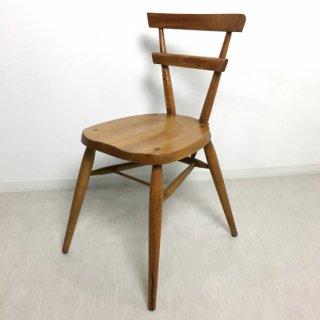 英国アンティーク調 スクールチェア 木製 椅子 マホガニー 無垢材 ナチュラル