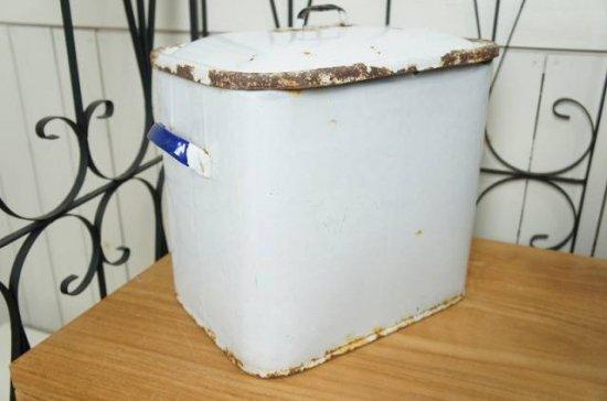 英国 アンティーク 琺瑯 ブレッド缶 BREAD 1930年代 イギリス製