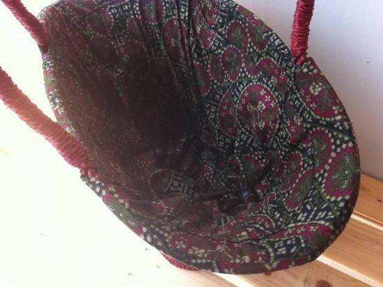 天然パンダン手編み  巾着トートバッグ #R203