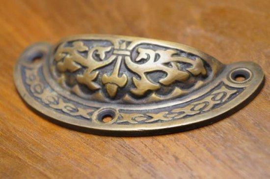 アンティーク調 ブラス 取っ手ハンドル 真鍮製