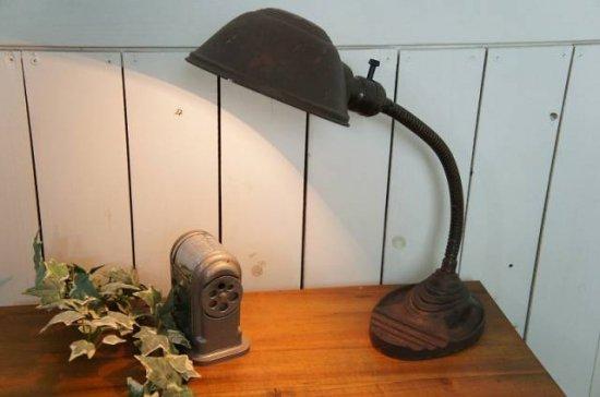 アメリカ ヴィンテージ 工業系 EAGLE社製 卓上 ライト グースネック デスクランプ