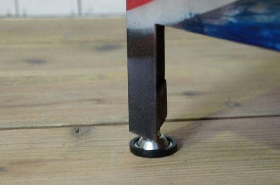 アンティーク調 工業系 アイアン キャビネット サイドボード インダストリアル ユニオンジャック