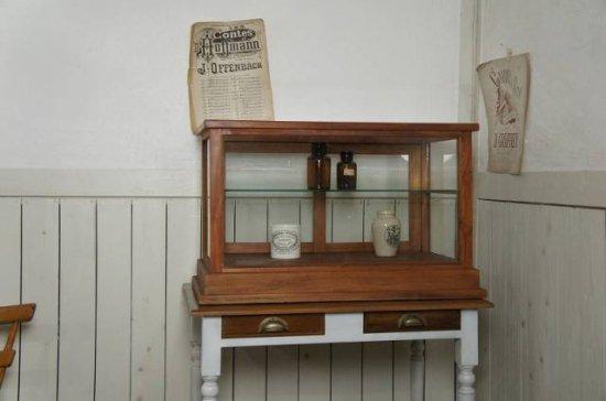 卓上 ガラスケース 古木 2段 5面 収納棚 飾り棚 駄菓子 店舗什器