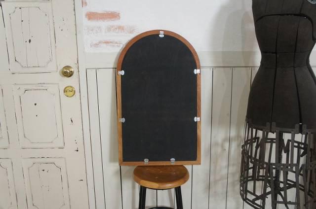 アンティーク調 ブラックボード 黒板 メニューボード ウェルカムボード等 アーチフレーム