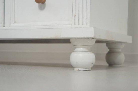 フランス アンティーク調 シャビーホワイト 大型 飾り棚 収納 16杯引き出し 店舗什器 白