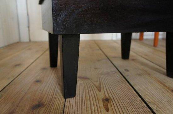 アンティーク調 5面ガラスケース パンケース ブラック 飾り棚 ブレッドケース BREAD