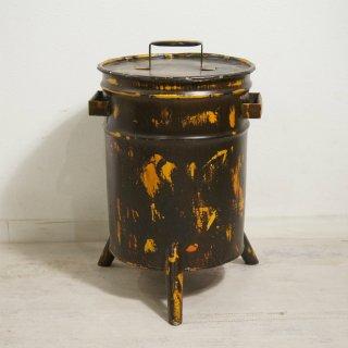 工業系 インダストリアル 20L ペール缶 オイル缶 リメイク ダストボックス ゴミ箱 DUSTBOX