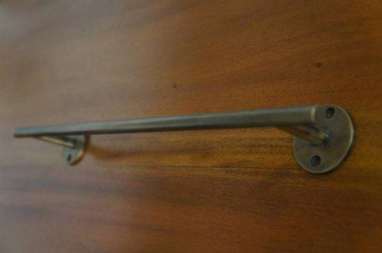 真鍮製 ブラス 壁掛けハンガー タオル掛け タオルバー