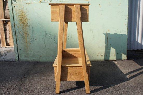 アンティーク調 2段 ウッド プランターラック 園芸ラック 木製 組立式 ナチュラル
