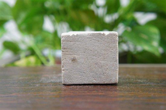 パラス石 石彫り バリ島 アジアン オブジェ 置物 カエル 10cm (お願い正面)