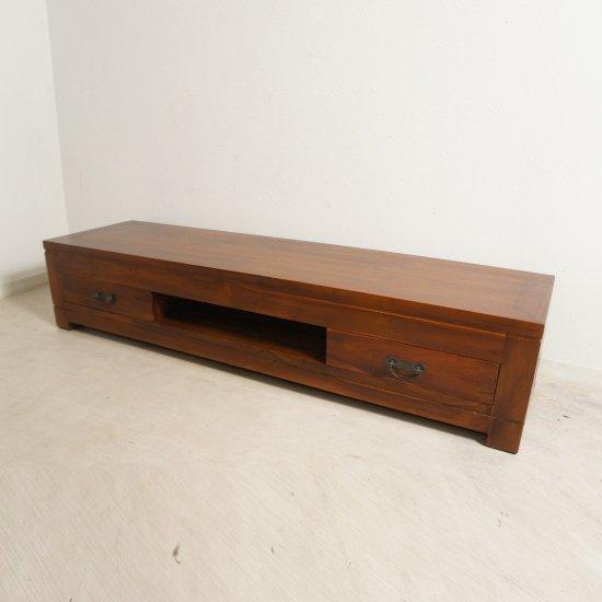 チーク 無垢材 古木 TV台 テレビ台 テレビボード ローボード AVボード 150cm