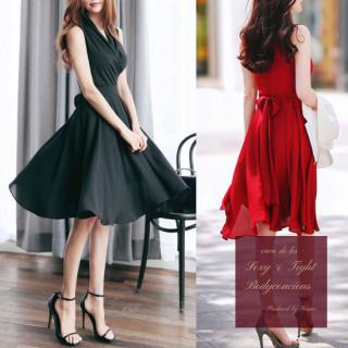 【即納】上品style王道のカシュクールのナイトドレス