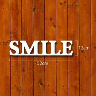 イニシャルオブジェ【SMILE】30mm厚
