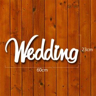 イニシャルオブジェ【Wedding】30mm厚