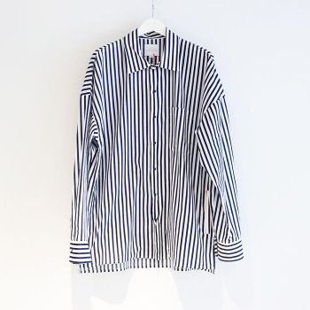 <img class='new_mark_img1' src='//img.shop-pro.jp/img/new/icons14.gif' style='border:none;display:inline;margin:0px;padding:0px;width:auto;' />VICTIM / STRIPE LOOSE SHIRTS