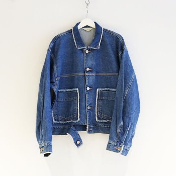 <img class='new_mark_img1' src='//img.shop-pro.jp/img/new/icons47.gif' style='border:none;display:inline;margin:0px;padding:0px;width:auto;' />JieDa / DENIM SHORT JACKET