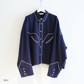 <img class='new_mark_img1' src='//img.shop-pro.jp/img/new/icons14.gif' style='border:none;display:inline;margin:0px;padding:0px;width:auto;' />JieDa / C/W WESTERN SHIRT